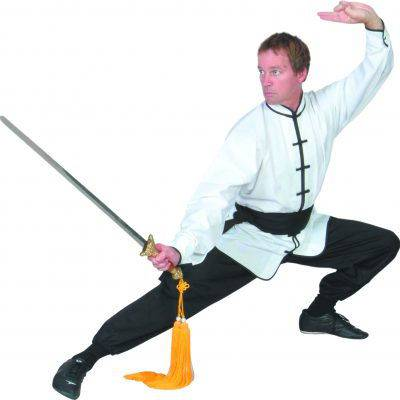 Long-Sleeve Kung Fu Uniform