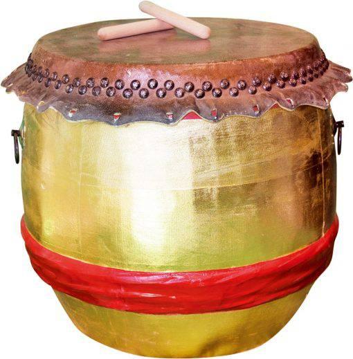 Gold drum
