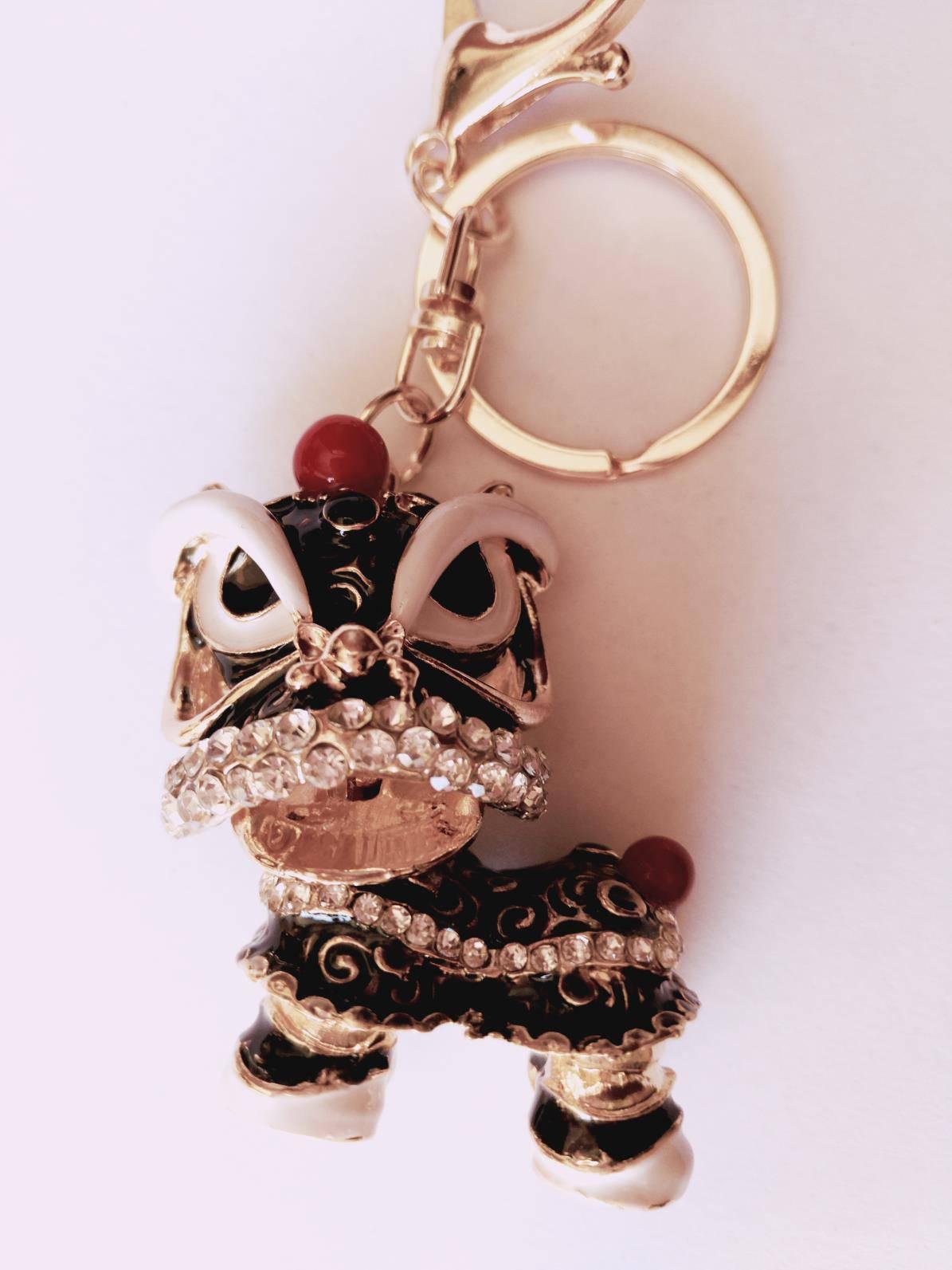 Cute Keychain Black