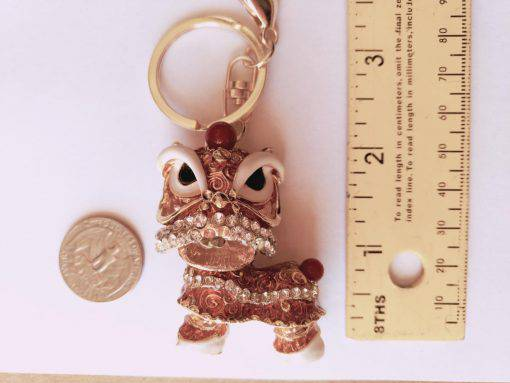 Cute Keychain Gold