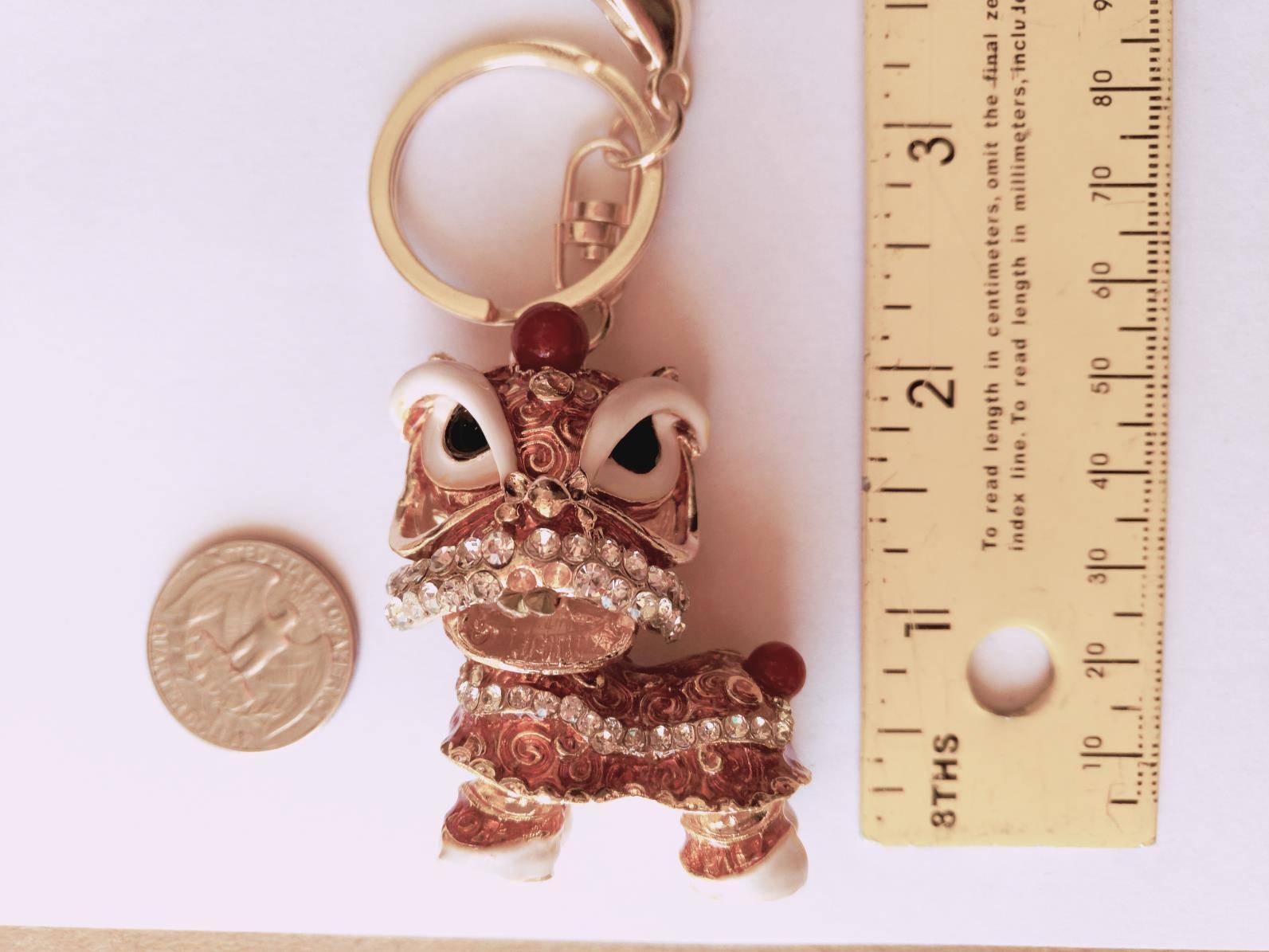 Cute Keychain Gold