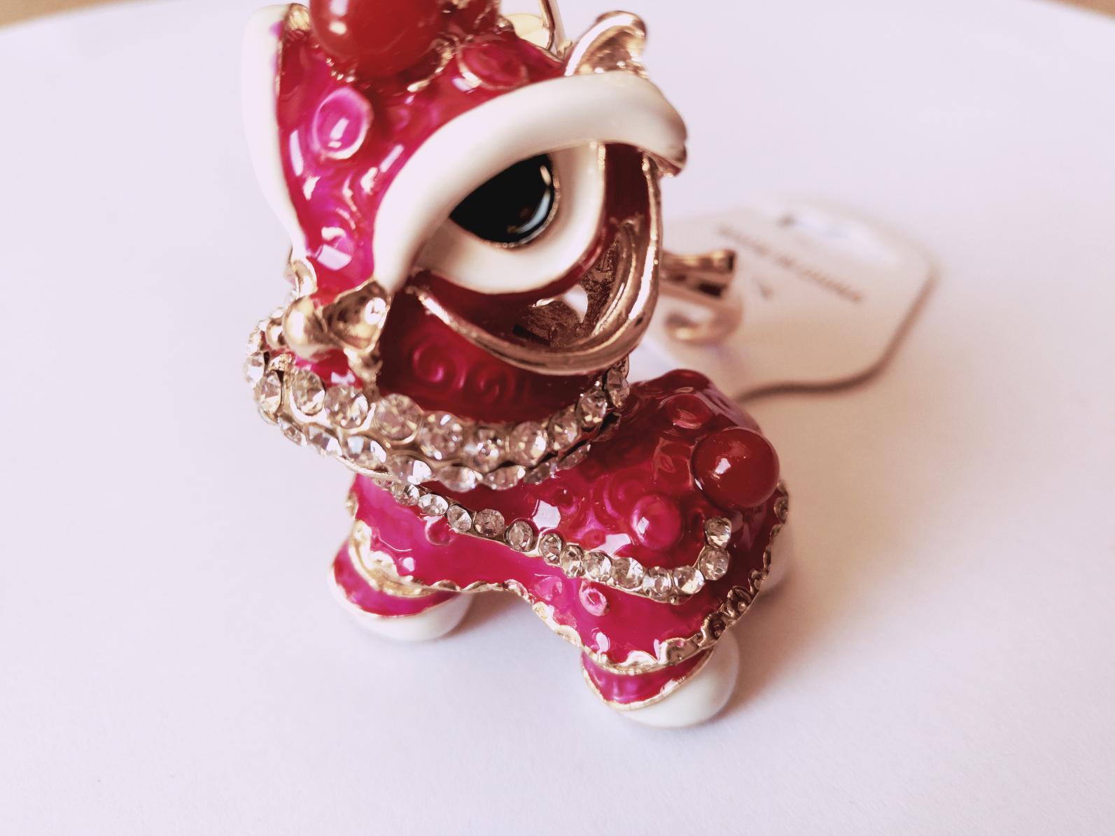 Cute Keychain Purple